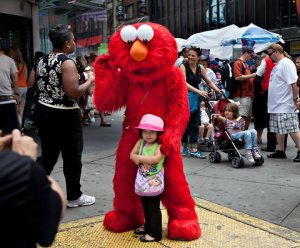 Elmo probs has a red rocket in this particular moment, but that's not what scares me.